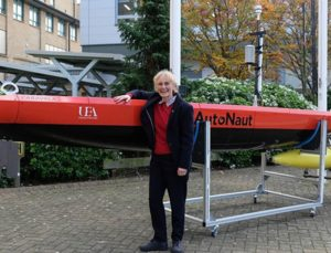 AutoNaut, Seaglider combination to safely survey oceans