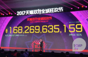 Robots two-pronged role in Alibaba's $25.3 billion Singles' Day sale