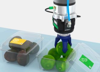 piSOFTGRIP vacuum-based soft gripper from Piab can handle delicate objects