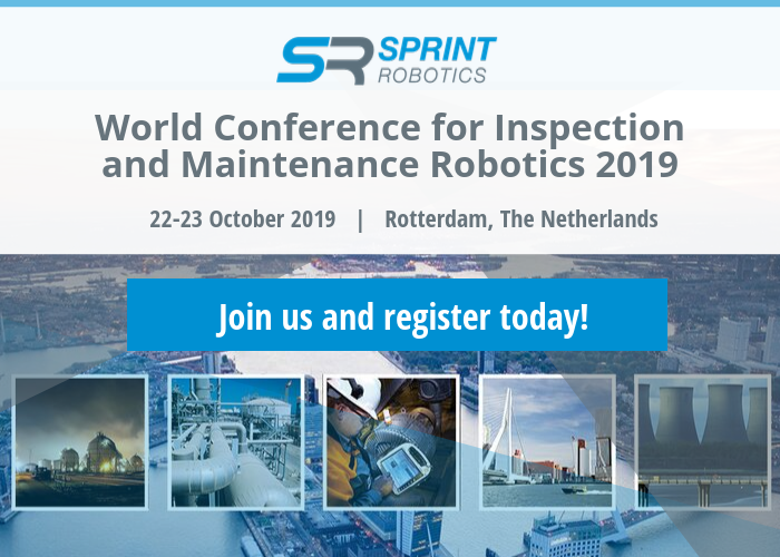 World Conference for Inspection and Maintenance Robotics banner