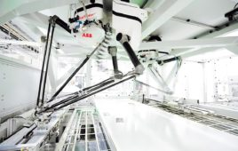 IRB 390 FlexPacker robot from ABB designed for faster omnichannel order fulfillment
