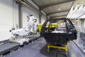 Dynamic Assembly Pack sensors enable ABB robots to automate final trim assembly